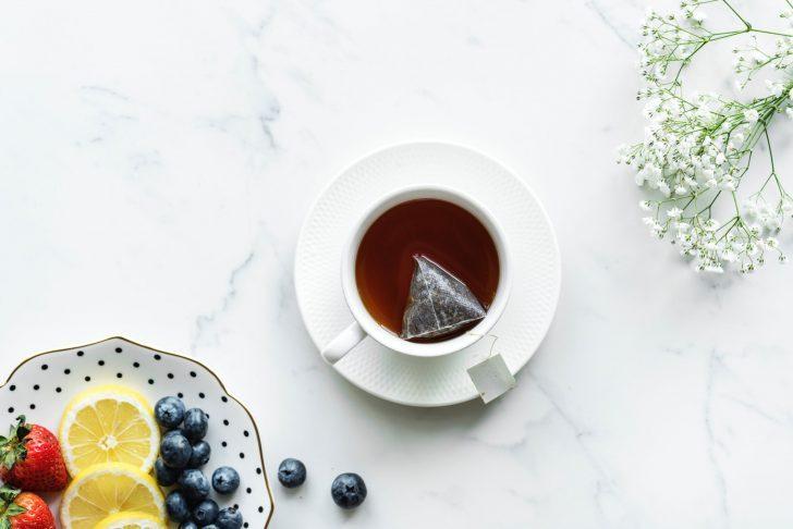 thé fruit