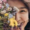 Bloemen maken gelukkig