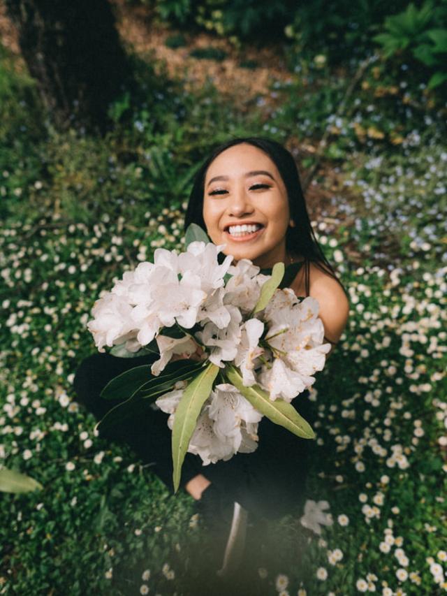 Bloemen verminderen stress