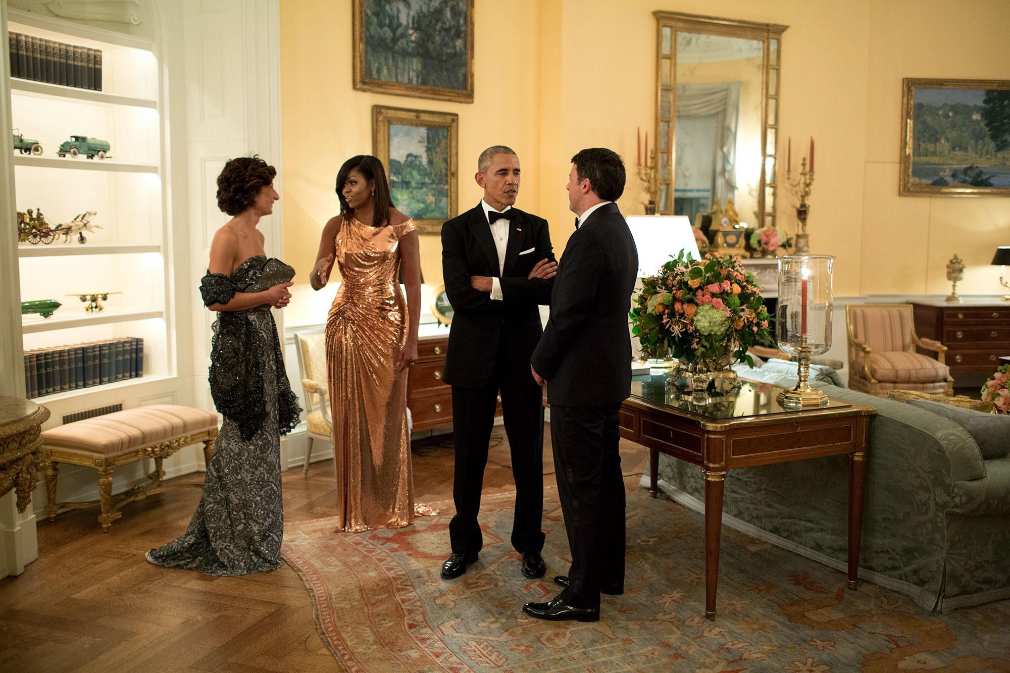 Michella Obama Jurk