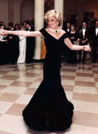 Prinses Diana Dress