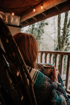 Lekkere koffie buiten